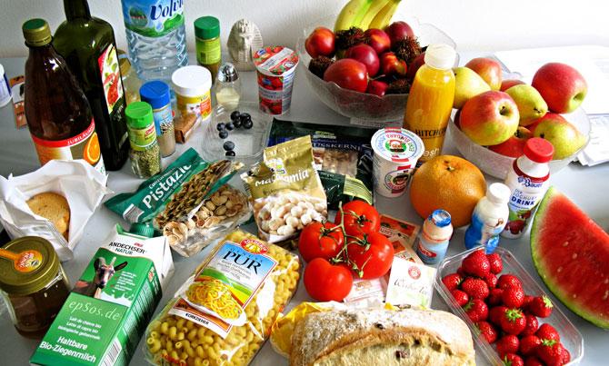 Список продуктов для вегетарианцев
